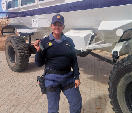 Northern Cape police constable obtains authority to drive police Casper