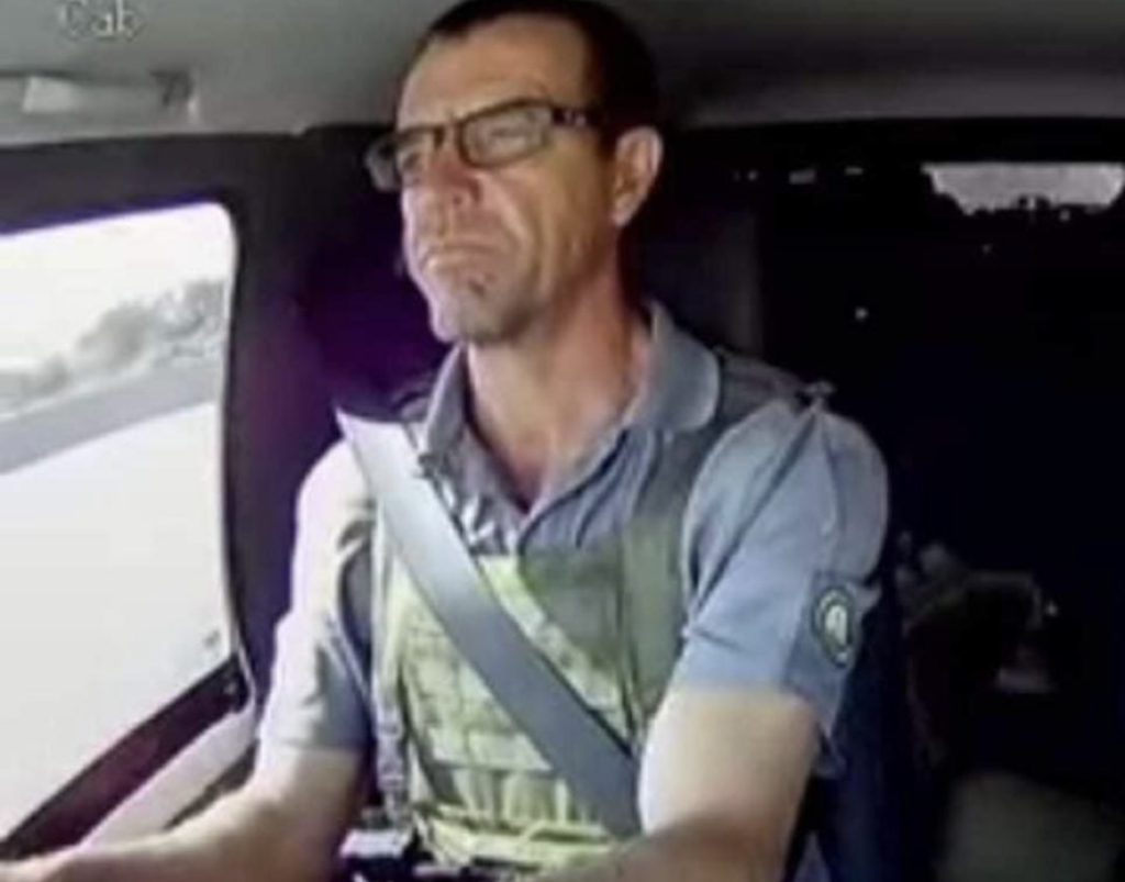 WATCH: More dashcam footage of Leo Prinsloo's attack