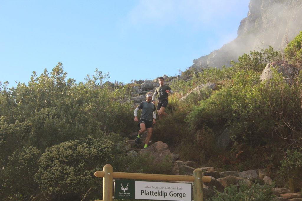 Table Mountain trail runners snatch a Guinness World Record