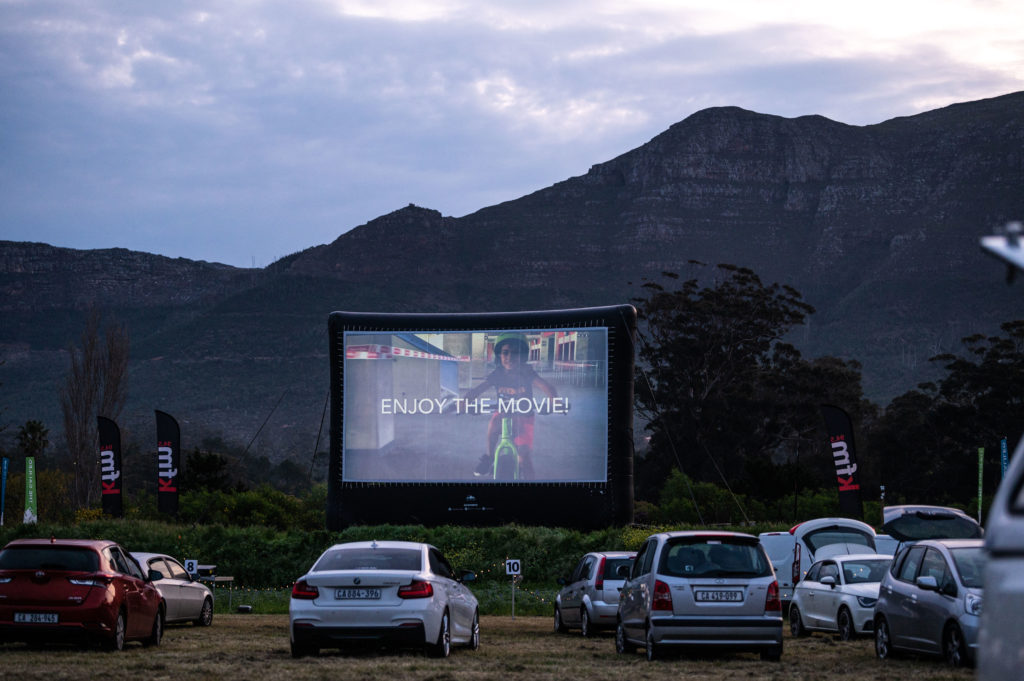 Enjoy a night out at one of Galileo's Open Air Cinemas
