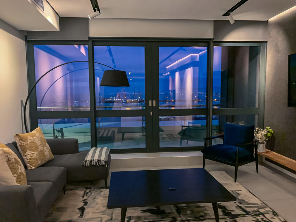 Life in the sky: inside a luxury apartment, The Halyard