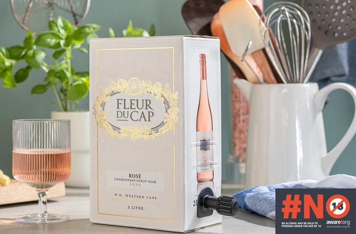 Introducing the new Chardonnay/Pinot Noir Rosé from Fleur du Cap