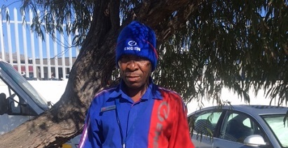 Helping Andries see- Ann raises funds for petrol attendant