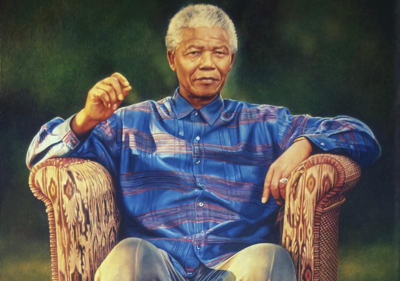 A never-before-seen portrait of Nelson Mandela revealed