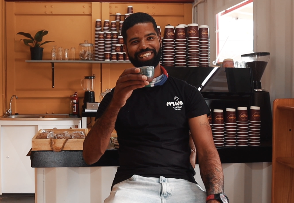 Made in Cape Town (Ep. 5) – Killer coffee from Molweni'scontainer
