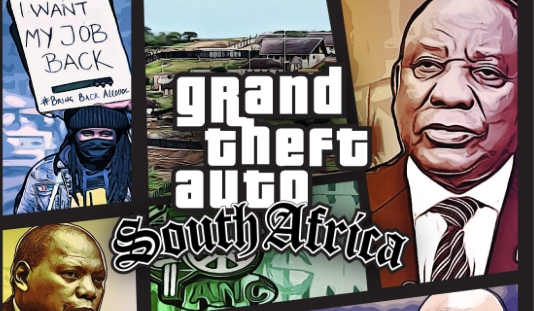Not a meme: DA actually uses GTA poster to call out corruption