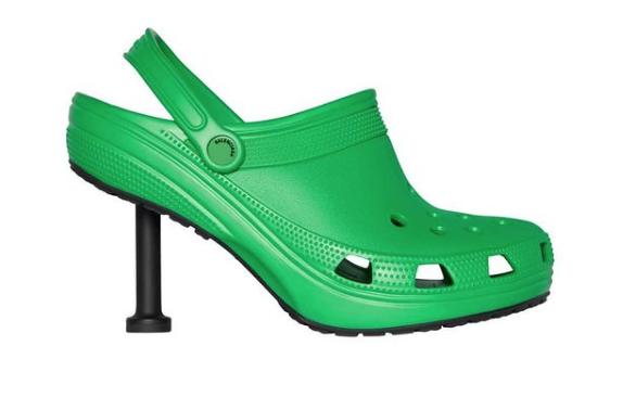 Crocs have now become stilettos, let's talk about the resilience of the mighty Croc