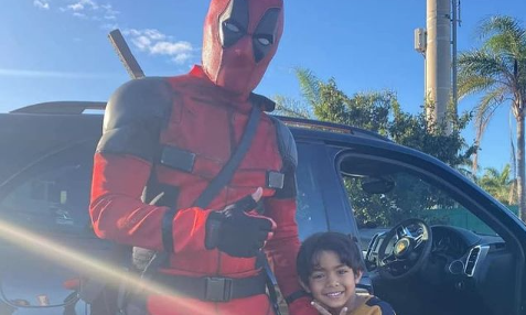 SA has our own Deadpool patrolling the streets