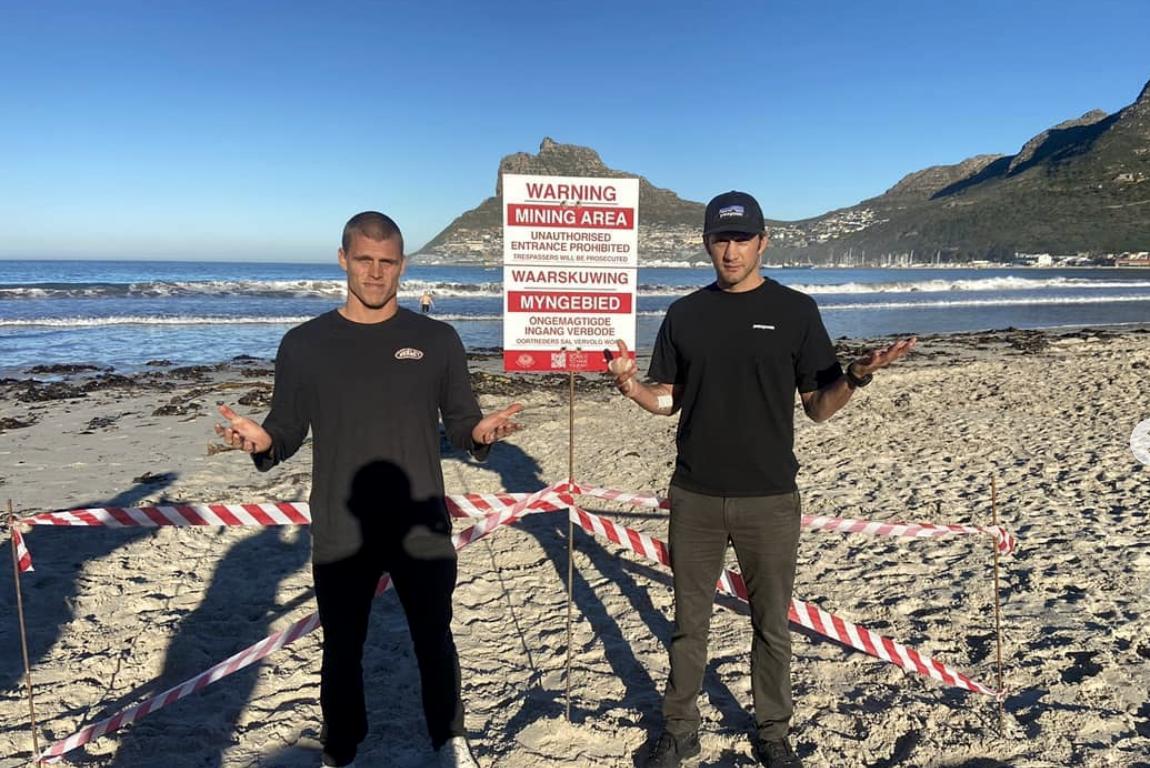 WATCH: protestors release video footage of West Coast beach mining