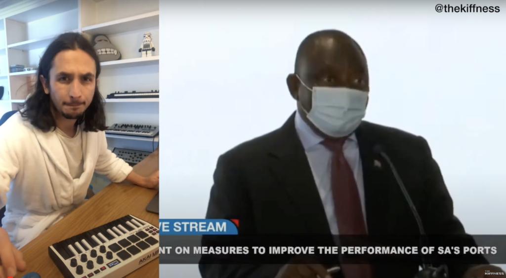 WATCH: The Kiffness remixes Ramaphosa's iPad scandal, of course