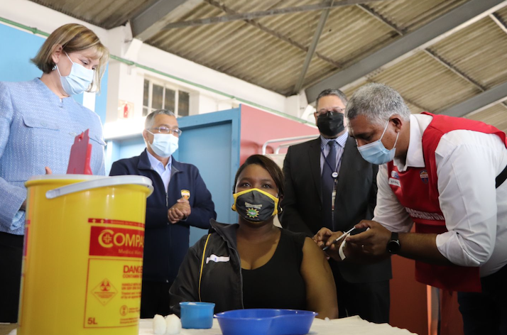 WC education sector's vaccine roll-out commences