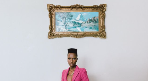 Anti-viral fabrics: the armor that a SA designer has focused on and Zozi Tunzi rocked
