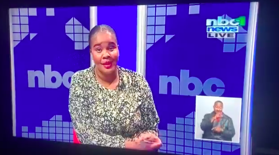 WATCH: Jessica we are live?! The video that SA needed for a good laugh
