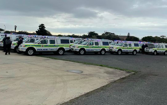 WATCH: Western Cape police deploy 58 new vehicles