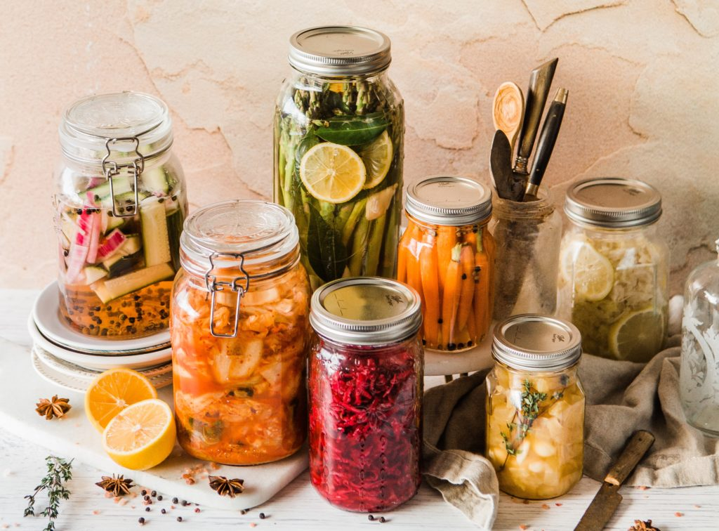 fermented foods with probiotics