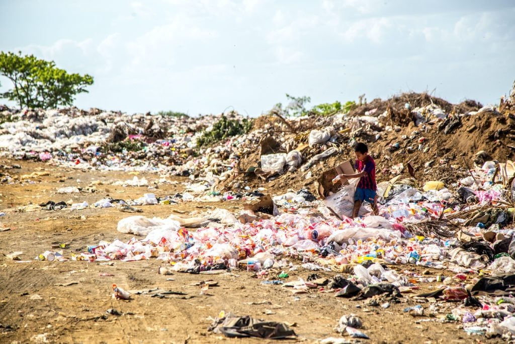 Plastic pollution in South Africa