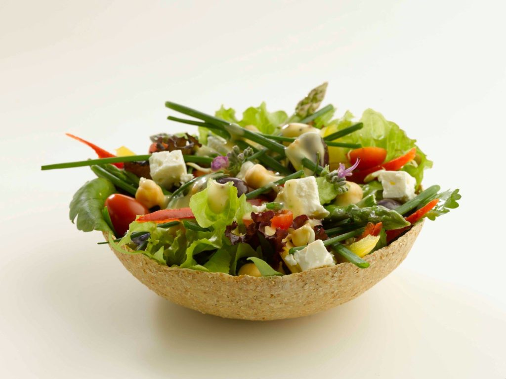 Plastic Free July - Cape Town produces edible bowls to reduce plastic waste