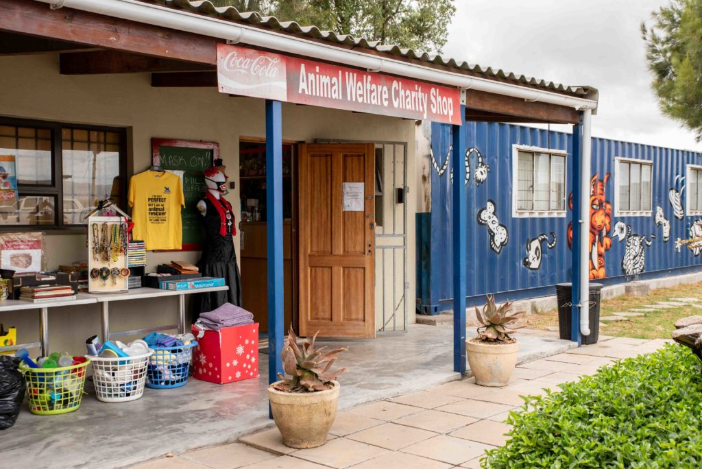 Donate your pre-loved goods to the Animal Welfare Society of SA's charity shop