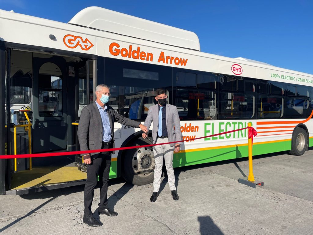 SA's first electric bus launched in Cape Town
