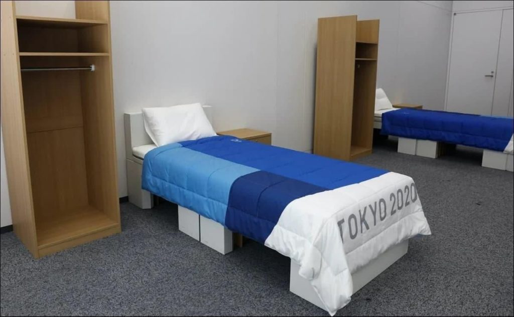 Olympic cardboard beds in question, are they strong enough for sex?