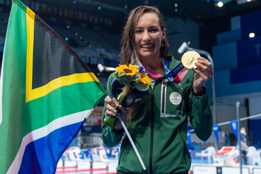Tatjana Schoenmaker secures SA's first gold medal in Tokyo