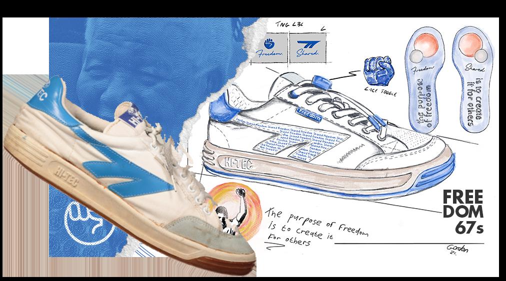 Sneakers for freedom: HI-TEC honours Nelson Mandela's legacy