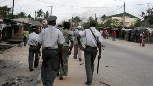 Mozambique police uniform