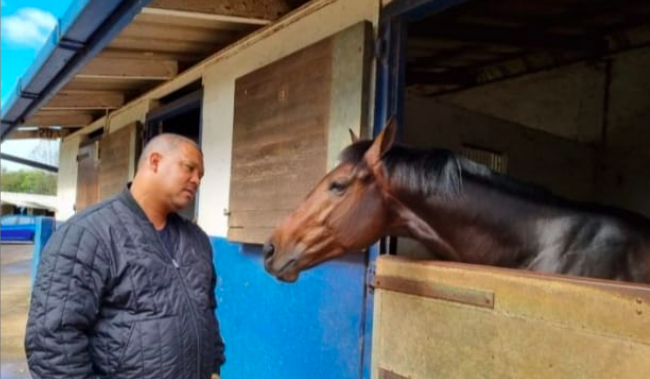 Capetonian and his horse make history: first person of colour to own a Durban-July champion