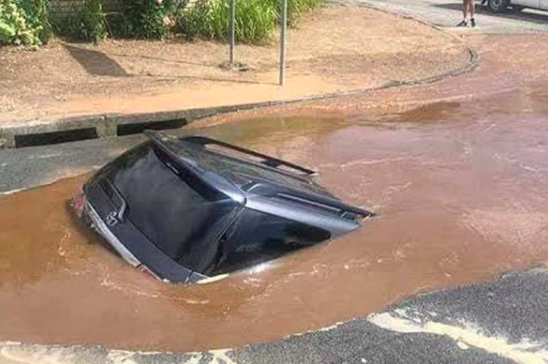 Which country has the worst potholes? According to Ladbible, it's SA