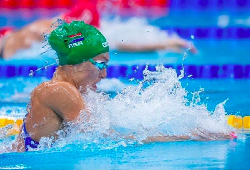 SA's Tatjana Schoenmaker going for gold