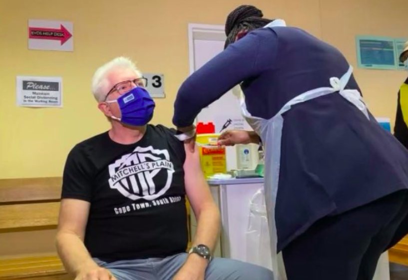 WATCH: Western Cape Premier gets vaccinated