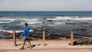 South Africa shuts beaches