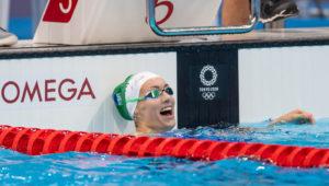 Tokyo 2020 Olympic Games on July 25, 2021 in Tokyo, Japan. Tatjana Schoenmaker