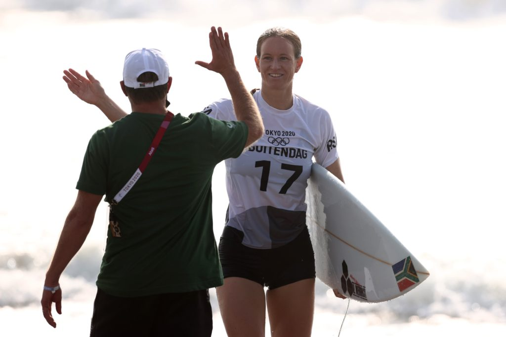 Team SA to bag second medal as Buitendag cruises into surfing final