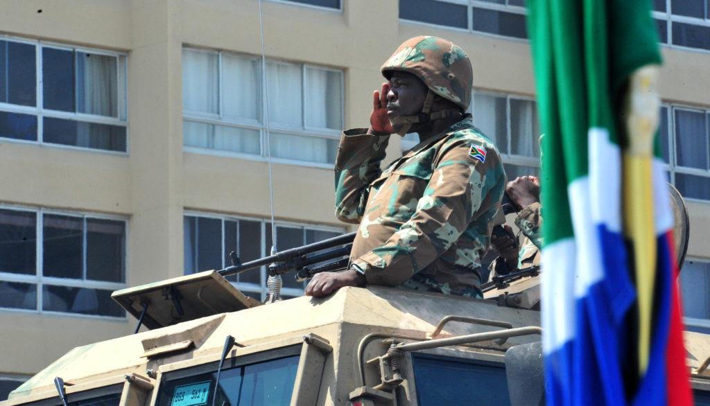 SANDF called to take action in KZN and Gauteng, soldiers deployed