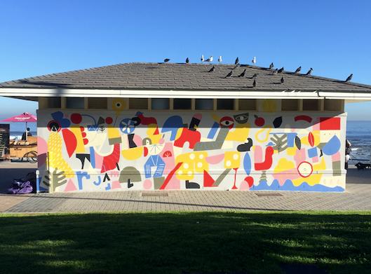Inspiring AR mural brings new, colourful flair to Sea Point
