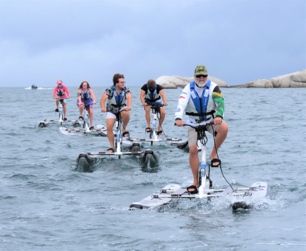 A water biking adventure you have to try in Cape Town