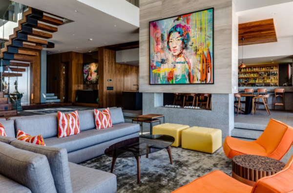 Cape Town Luxurious Property_Living Room
