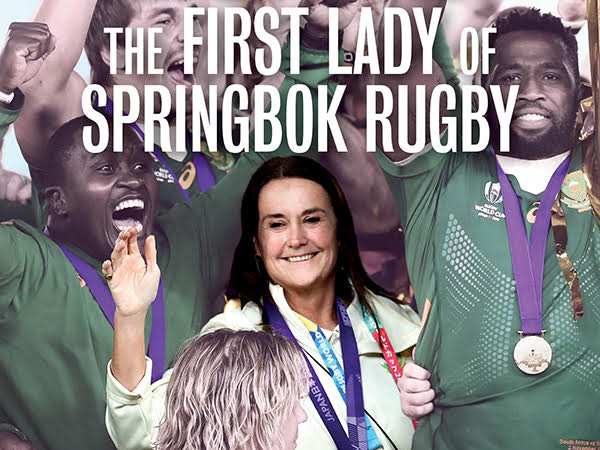 A book celebrating the First Lady of Springbok rugby, Annelee Murray