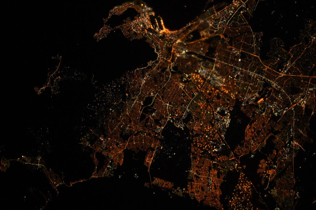 Check out what Cape Town looks like from Space