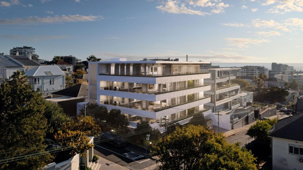 New luxury development in Fresnaye features only 4 exclusive apartments