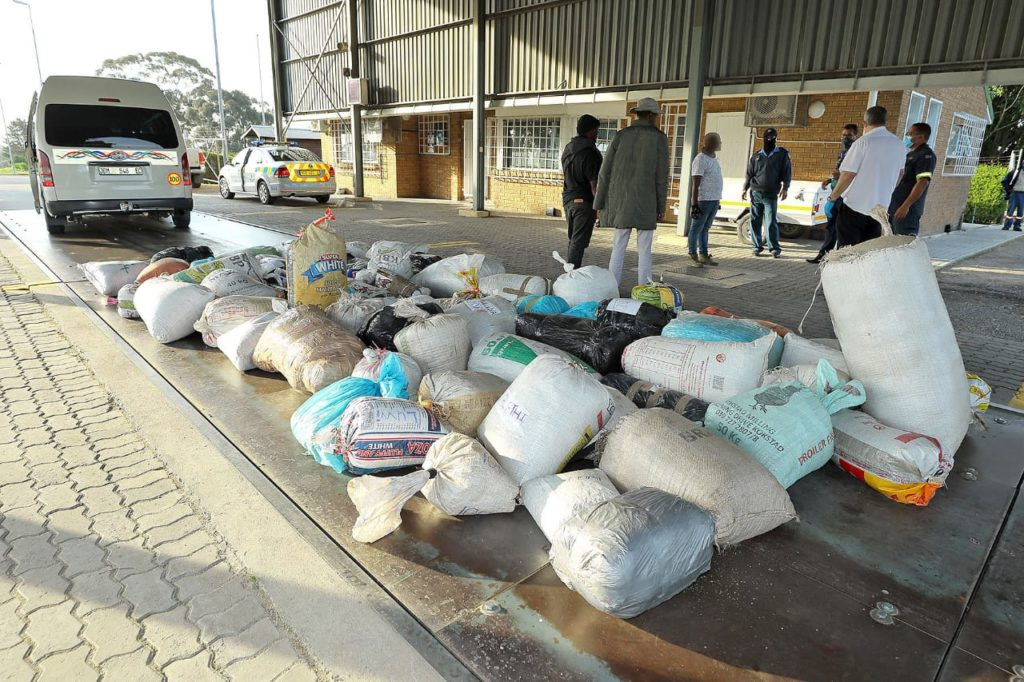 WC police seize another large shipment of cannabis on the N1