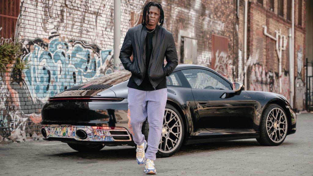 SA visual artist, Nelson Makamo turns his Porsche 911 Carrera into a moving canvas