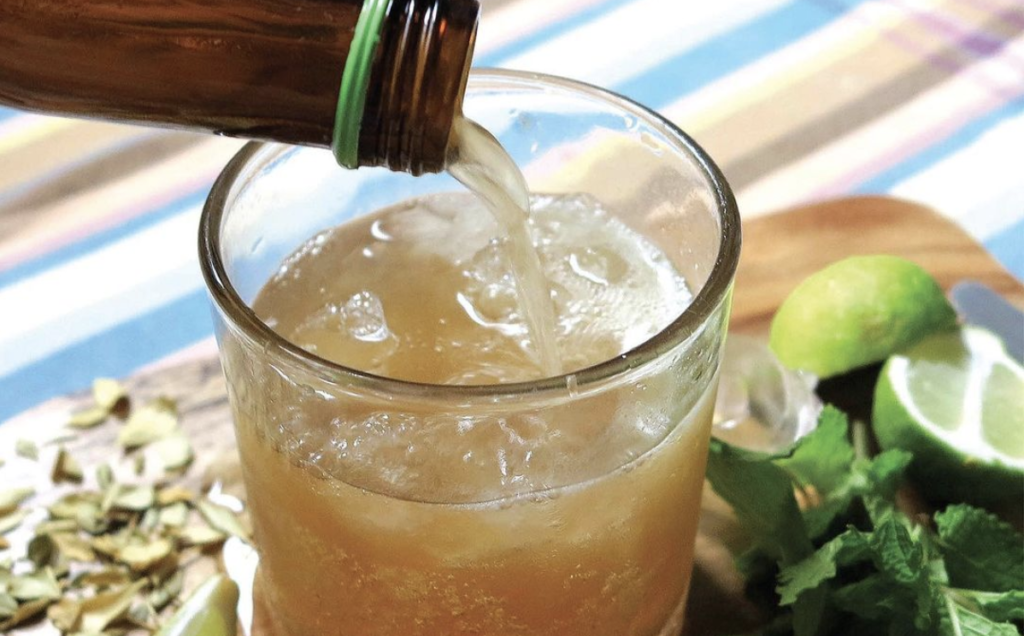 Recipe: Swinging into spring with this cracking kombucha cocktail
