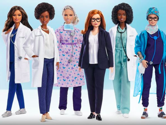 Barbie dolls made in the honour of brilliant women battling the pandemic