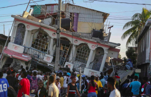 Haiti earthquake summary: thousands have died in the island nation