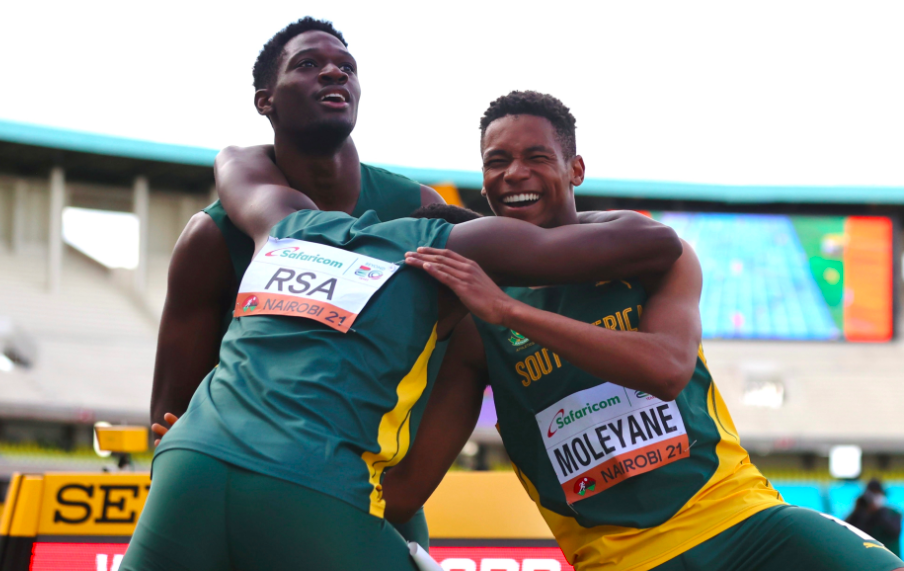 WATCH: SA U20 sprinters set a new world record at World Athletics Championships