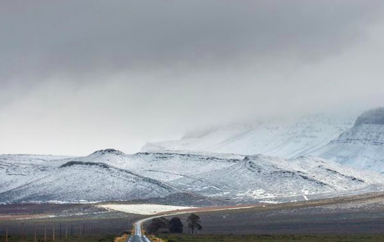 The Cape of storms and snow- Level 6 weather warning