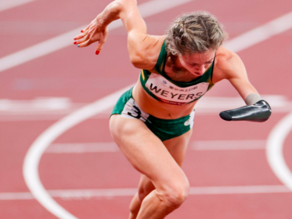 Team SA claims double gold at Paralympics