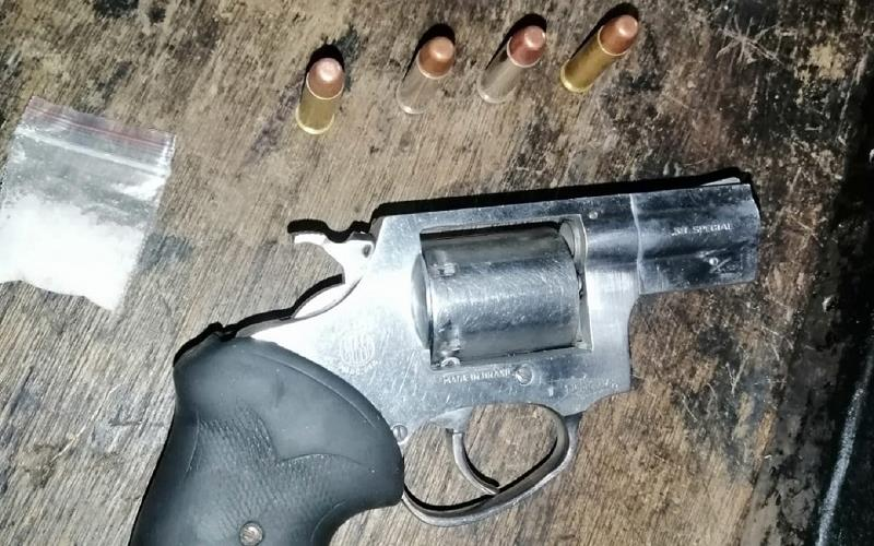 The city's law enforcement agencies continue to confiscate illegal firearms
